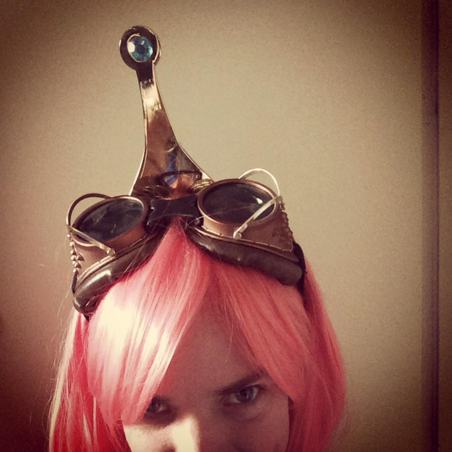 steampunk princess bubblegum details