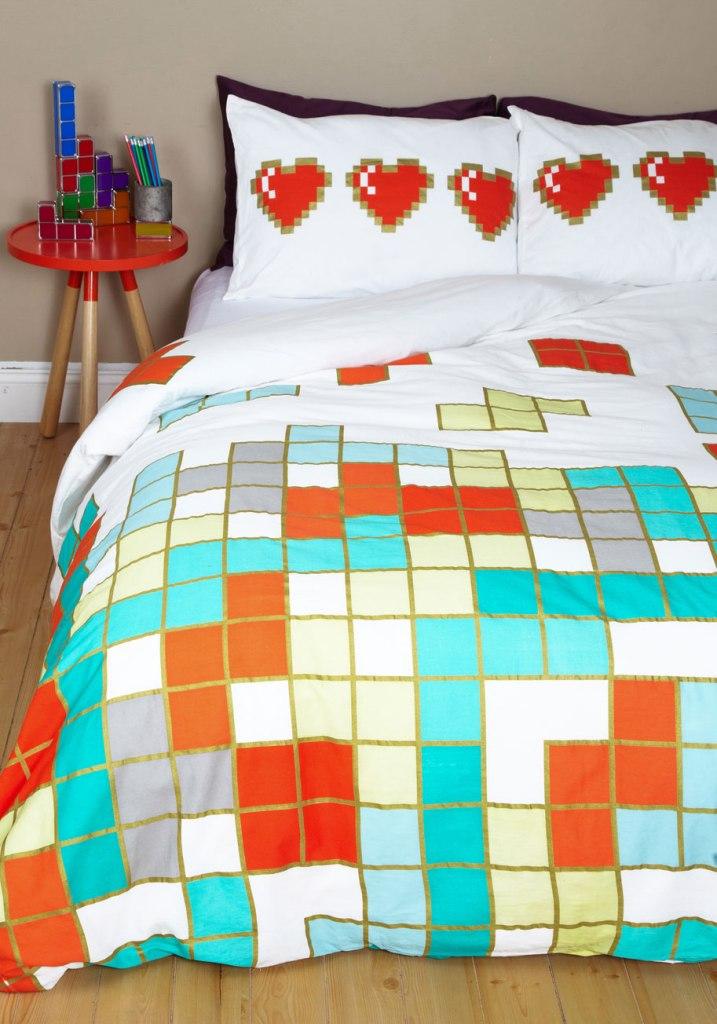 tetris bedding